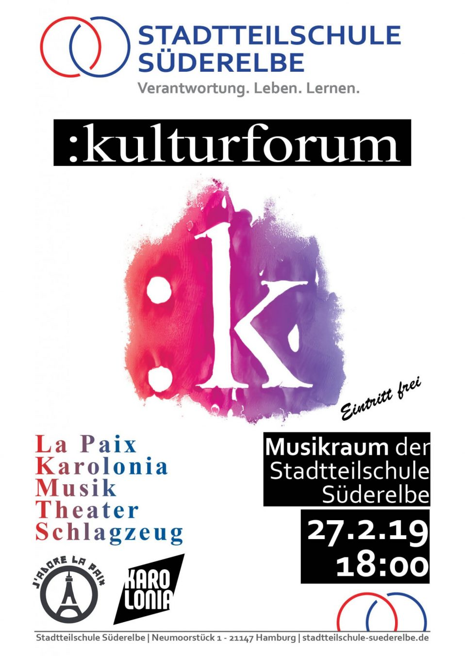 Plakat Kulturforum
